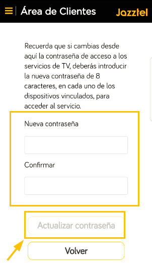 app jazztel orange tv pass 3