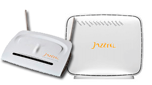 Dispositivos y routers de JAZZTEL