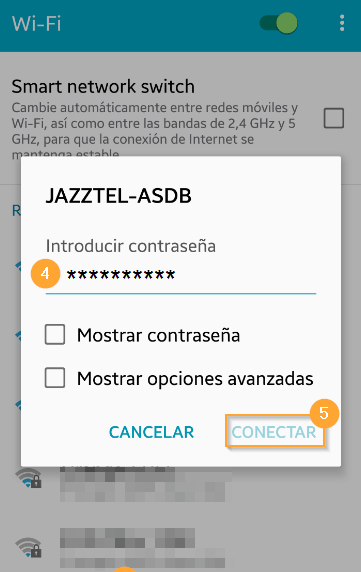 Android WiFi h218n 4 5