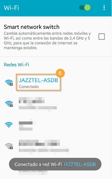Android WiFi h218n 6