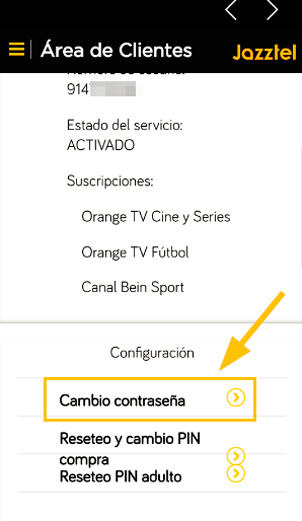 app jazztel orange tv pass 2