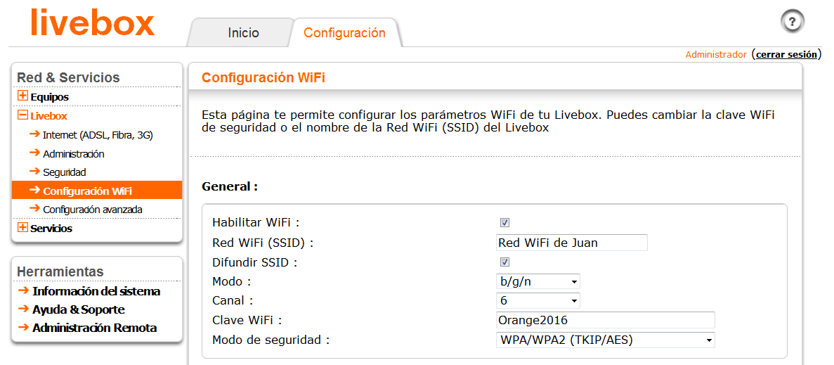 Livebox 2 wifi 3