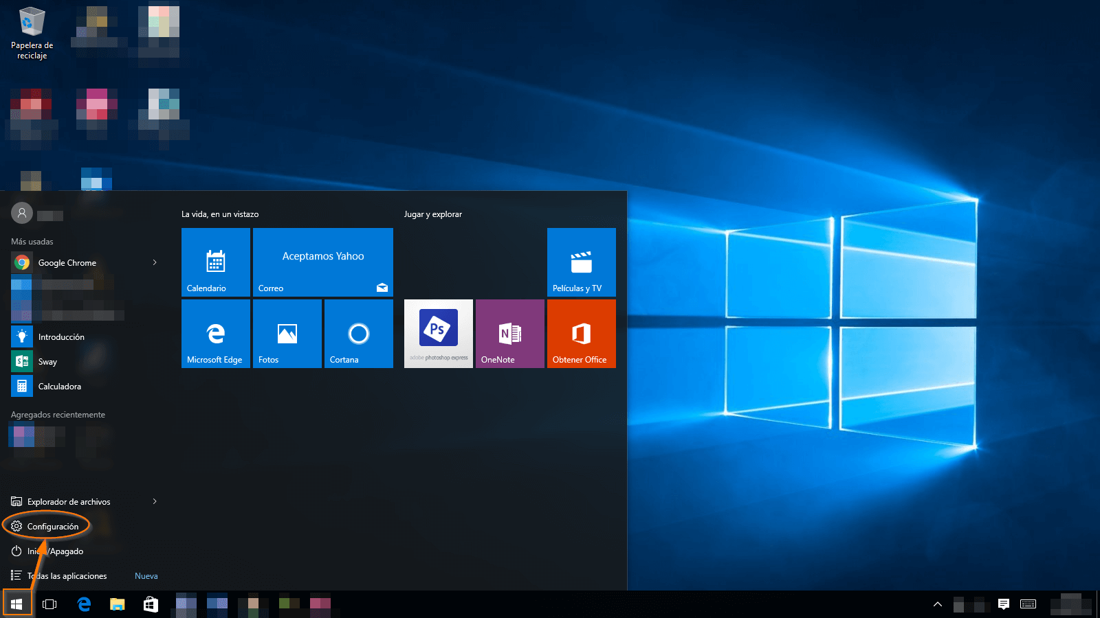 Windows 10 Livebox 1
