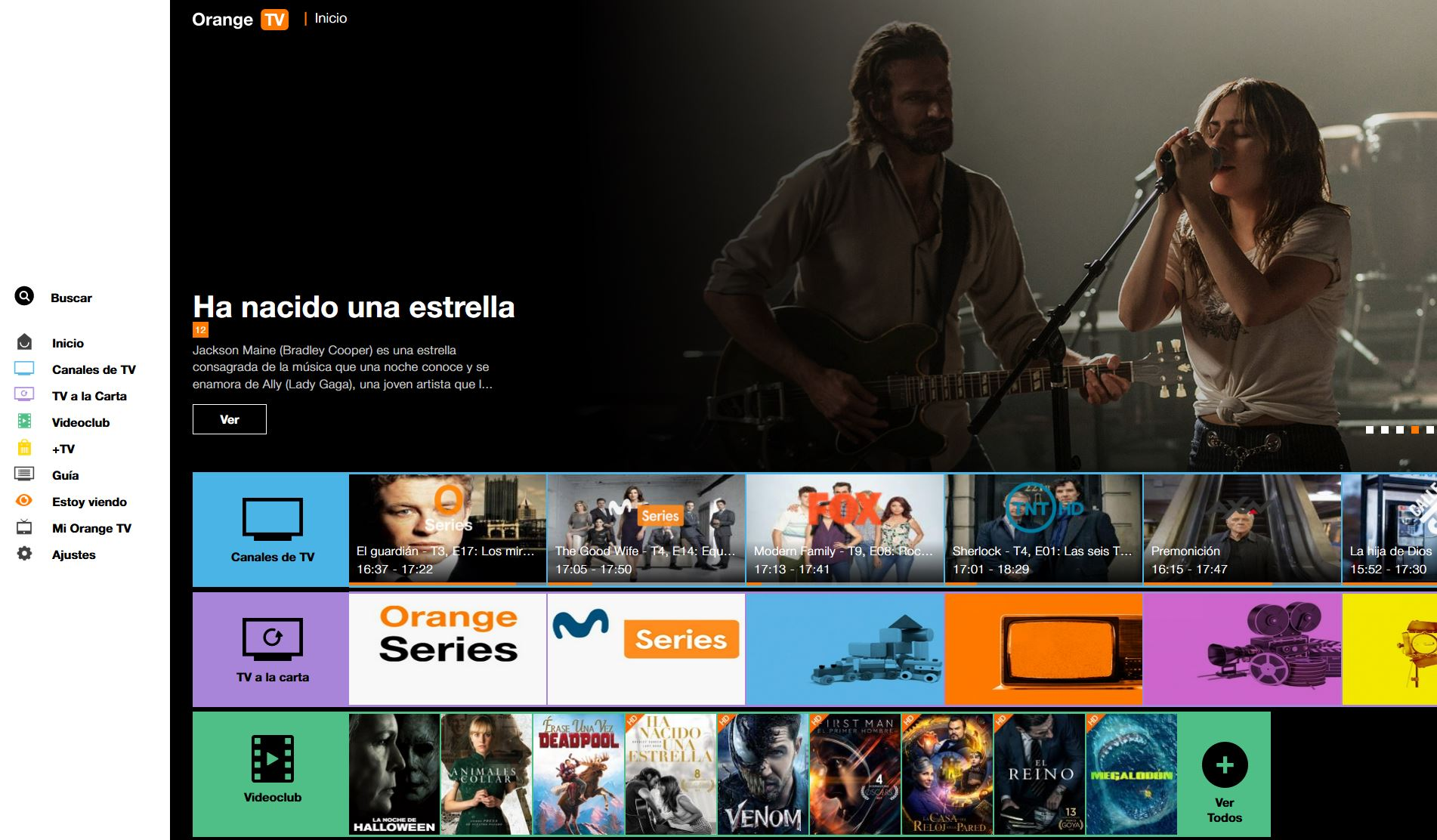 Orange TV a la carta PC