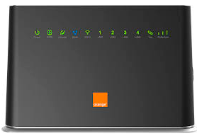 Livebox Evolution Orange frontal