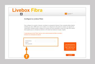 Instalación Livebox Fibra 7