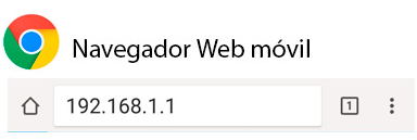 Navegador Web Movil admin
