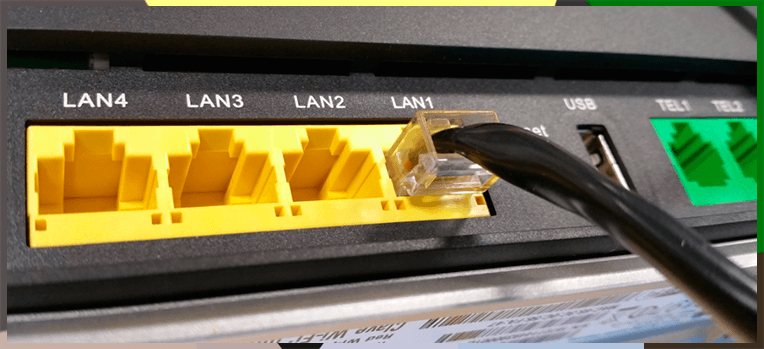 Livebox Evolution LAN Ethernet