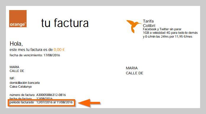 cu l es mi per odo de facturaci n con orange ayuda orange. Black Bedroom Furniture Sets. Home Design Ideas